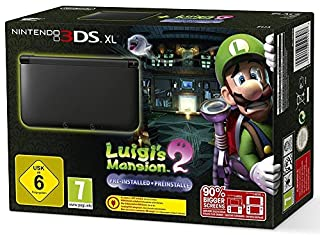 Console Nintendo 3DS XL - argenté & noir + Luigi's Mansion 2 (B00O1RZNCS) | Amazon price tracker / tracking, Amazon price history charts, Amazon price watches, Amazon price drop alerts
