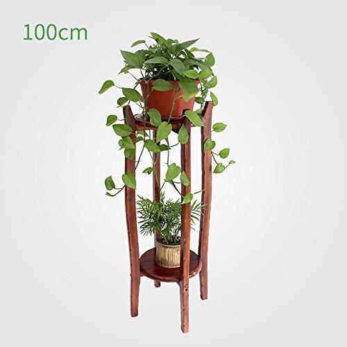 Pflanzentheater Massivholz Blumenständer Multi-Layer-Bonsai-Rahmen innen 60cm / 80cm / 100cm ideales Gärtner Geschenk ( größe : 100cm )