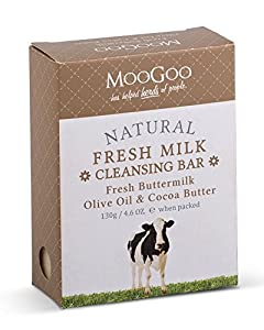 MooGoo Fresh Milk Buttermilk Cleansing Bar 130g