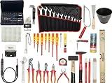 KS Tools 117.0190 - Kit de herramientas premium Electricistas, 132pcs