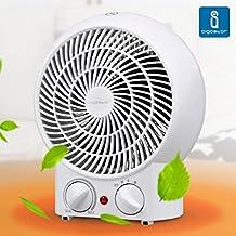 Aigostar Airwin White 33IEK - Radiador de aire caliente de 2000 watios en color blanco. Diseño Aigostar.