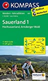 Sauerland 1 - Hochsauerland - Arnsberger Wald: Wanderkarte mit Aktiv Guide und Radrouten. GPS-genau. 1:50000 (KOMPASS-Wanderkarten, Band 841)