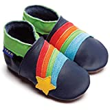 Inch Blue Krabbelschuhe Rainbow Star Navy, Large