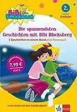 Bibi BLocksberg - Die spannendsten Geschichten mit Bibi Blocksberg: 3 Geschichten in einem Band Erstleser 2. Klasse ab 7 Jahren