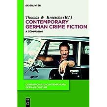 Contemporary German Crime Fiction: A Companion