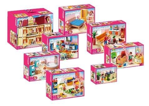 Grande Maison Playmobil - Playmobil-5302-Grand set complet-La maison de ville- avec