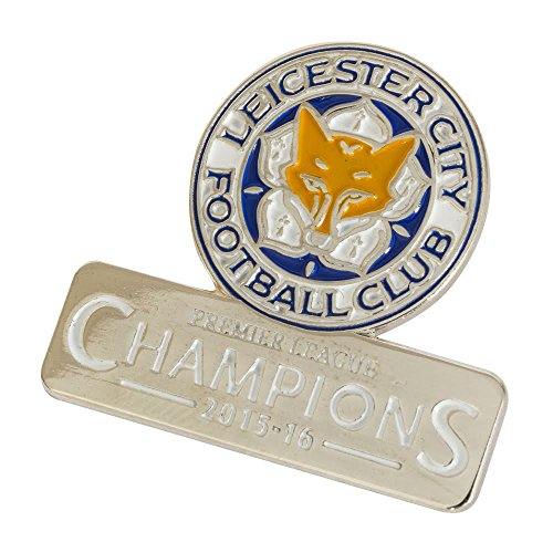 Leicester City F.C. Champions Badge Officiel