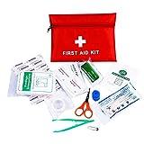 Anano Kit de premiers secours, pour l'urgence et la survie - voiture, maison, bureau et sports, réponse / cas de traumat d'urgence pour la campagne de randonnée de voyage