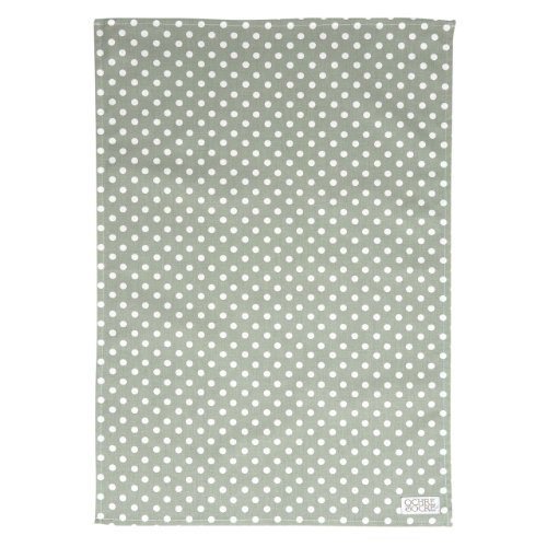 Ochre And Ocre Organic Cotton Tea Towel Madelaine-Sage