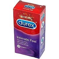 Preisvergleich für Carvaka Durex Intim Fühlen, Ultra Dünn Echt Fühlen, 12 Pack Kondome