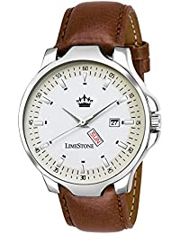LimeStone Avtar Day And Date Functioning Analog Watch For Men/Boys - (LS2730)