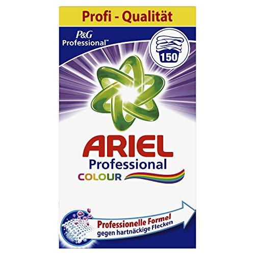 Ariel Professional Colorwaschmittel Pulver, 9,75kg, 150WL