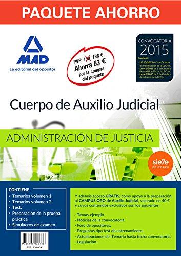 Paquete Ahorro Auxilio Judicial Ahorra 63 €
