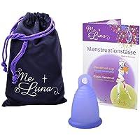 Me Luna Coupe menstruelle Sport, bague, bleu/violet Taille S