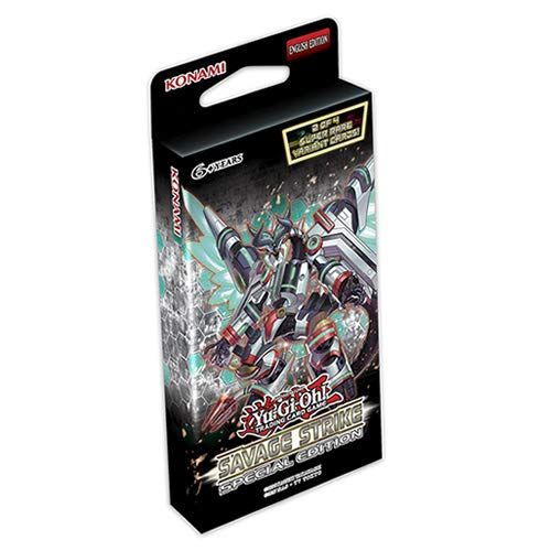 Yu-Gi-Oh! KONSSSE Savage Strike Special Edition 10er Display -