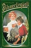 Blechschild Nostalgieschild Pilsner Urquell Bier Schild retro Bierwerbung Reklame