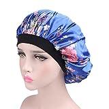 HuaYang Femmes imprimé floral Bonnet Chapeau Bonnet De Sommeil Nuit Coiffure de Soin Cheveux - 256J