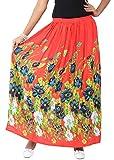 LIBA Women's Skirt (LE-RY-12 _Red_Large)