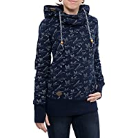 RAGWEAR Damen Pullover Sweatshirt HOOKED 1721-30024