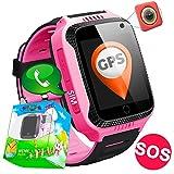 Smartwatch per bambini con tracker GPS, SOS, allarme antismarrimento,...