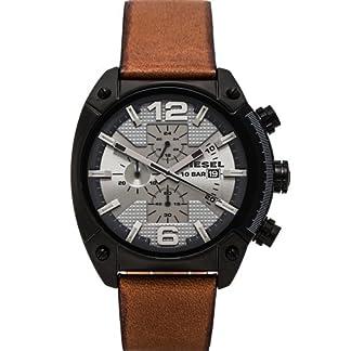 Diesel Dz4317 – Reloj de Cuarzo para Hombre, Correa de Cuero