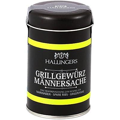 Hallingers Gewürz Grillgewürz Männersache   Aromadose   130g von Hallingers Schokoladen Manufaktur GmbH - Gewürze Shop