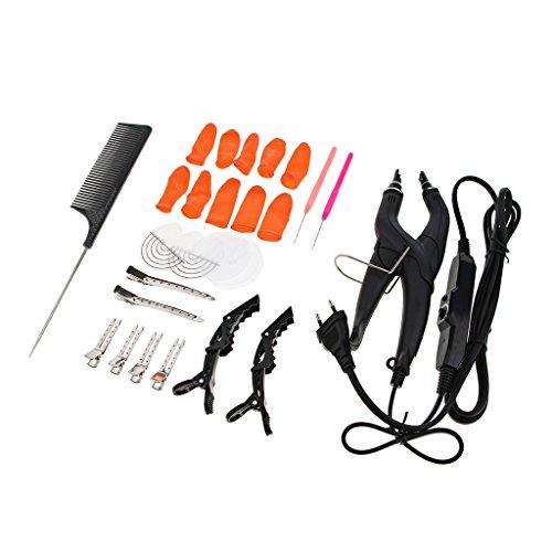 Profi Wärmezange Set für Haarverlängerung Haar Extensions