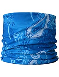Multifunctional Headwear Blue Paisley