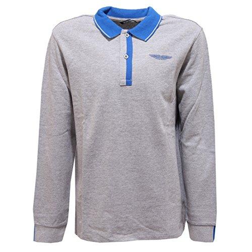 8979r-polo-bimbo-aston-martin-maglia-manica-lunga-grigio-t-shirt-polo-kid-14-years
