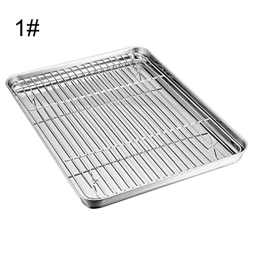 thorityau BBQ Toaster Tray Set,Edelstahl Safe Durable O… | 00760356927955