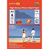 Gocolor Inkjet High Glossy Photo Paper - A4, 180 GSM, 20 Sheets