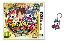 Yo-Kai Watch 2: Carnánimas + Medalla - Edición Especial Limitada + Llavero