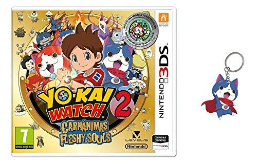 3DS Yo-Kai Watch 2: Carnánimas + Medalla - Edición Especial Limitada