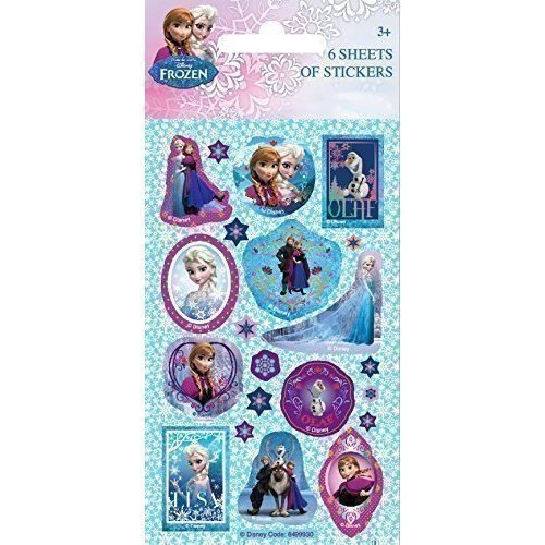 rs Pack of 6 Sheets by Disney (Disney Sticker)