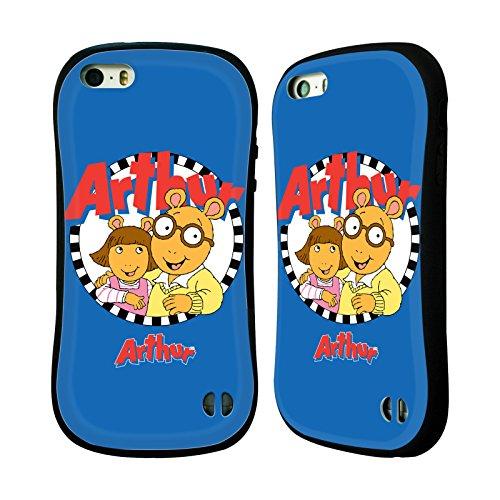 Ufficiale Arthur Lifes A Beach Personaggi Case Ibrida per Apple iPhone 6 Plus / 6s Plus Logo