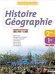 Histoire-Géographie 2e et 1re Bac Pro