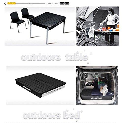 Preisvergleich Produktbild fuway schwarz Auto Trunk Rückseite Aufbewahrungsbox faltbar Outdoor Camping Picknick Angeln Stuhl,