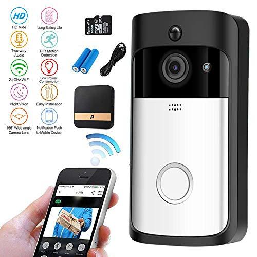 Video Türklingel,Video Doorbell 1080P HD Video Türklingel