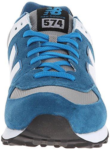 New Balance ML574 D, Baskets mode homme Bleu (Cpd Blue/Grey)