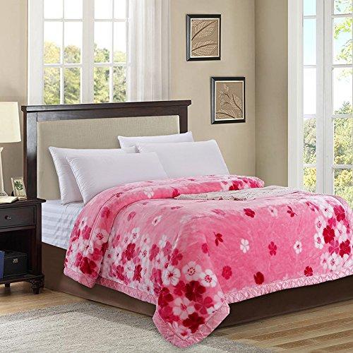 BDUK Einzelne Schüler und Betten Raschel Decke Winter dicke warme Decken und Matratzen sind Decke ,A,1,1.35 M Decke