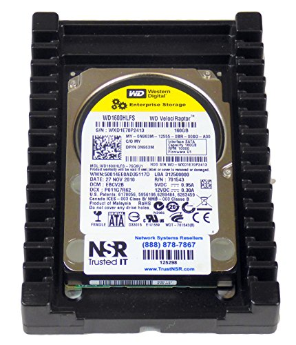 WD WD1600HLFS VelociRaptor - Disco duro interno SATA (160 GB, 3,5', 10000 rpm)