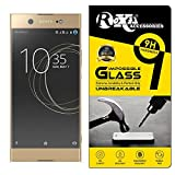 Roxel® Sony Xperia XA1 Ultra Dual 360° Flexiable Tempered Glass with Unbreakable Impossible Film Glass [ Better Than Tempered Glass ] Screen Protector for Sony Xperia XA1 Ultra Dual (Gold, 64GB)