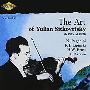 Art of Yulian Sitkovetsky-Vol.