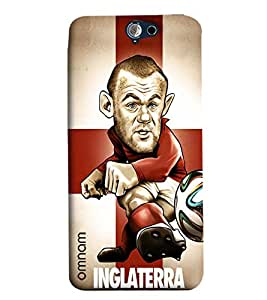 Omnam Inglaterra Printed With Designer Back Cover Case For HTC One A9