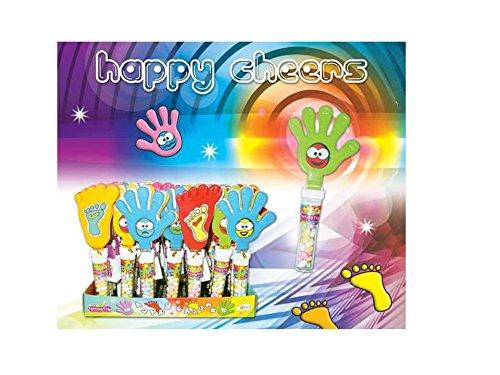 fantasy-50249-happy-cheers-expositor-con-30-unidades-manos-y-pies-aplaudidores-con-caramelos