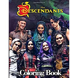 Disney Descendants 3 Coloring Book: Jumbo Descendants 3 Coloring Book With 50 Plus Premium Images for Kids and Adults