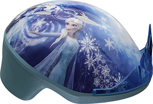 BELL Kinder Frozen Toddler Bike 3D ELSA Tiara Helmet, Multi-Coloured, 48-52 cm