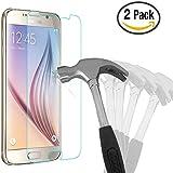 2 Pack Samsung Galaxy S6 Schutzglas, Bingsale Gehärtetem Glas Schutzfolie Schutzfolie Displayschutzfolie Panzerglas für Samsung Galaxy S6 (2 Pack)