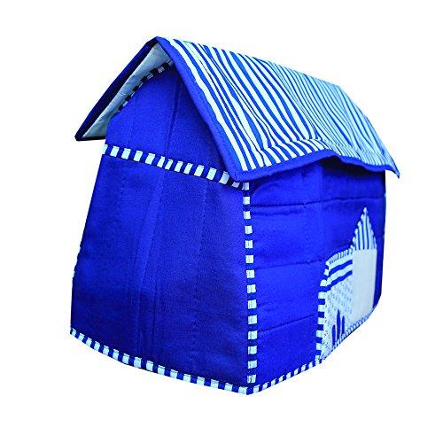 Kuber Industries™ Stylish Hut Design Sewing Machine Cover (Blue) - KI3502