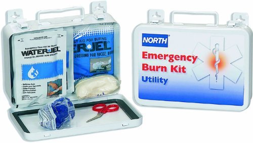 Water Jel Burn Dressing (North by Honeywell 019725-0012L Utility Burn Kit with Water-Jel Dressings, Steel by North)